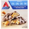 Atkins, Barra de Chocolate, Caramelo e Frutos Secos, 5 Barras, 44 g (1,55 oz) Cada