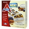 Atkins, Greek Yogurt Bar, Blueberry, 5 Bars, 1.7 oz (48 g) Each