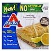 Atkins, ライト & クリスピーレモンバー、5本、各1.41オンス (40 g)