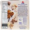 Atkins, Snack, Caramel Chocolate Peanut Nougat Bar, 5 Bars, 1.6 oz (44 g) Each