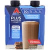 Atkins, Plus Protein & Fiber, Creamy Milk Chocolate, 4 Shakes, 11 fl oz (325 ml) Each