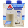 Atkins, Protein Rich Shake, French Vanilla, 4 Shakes, 11 fl oz (325 ml) Each