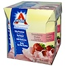 Atkins, Advantage, Strawberry Shake, 4 Shakes, 11 fl oz (325 ml) Each