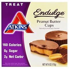 Atkins, Endulge, Peanut Butter Cups, 5 Packs, 1.2 oz (34 g) Each