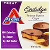 Atkins, Endulge, Peanut Butter Cups, 5개 팩, 1.2 oz (34 g) 각각
