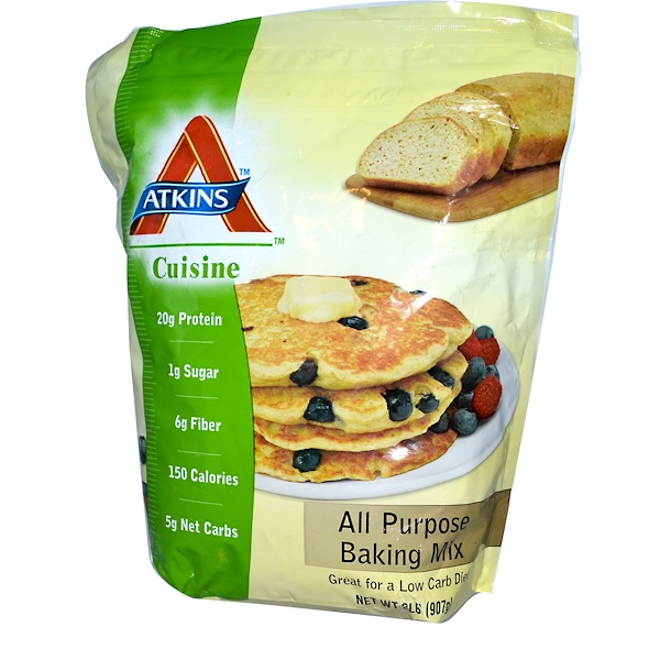 Atkins, All Purpose Baking Mix, 2 lbs (907 g) (Discontinued Item)