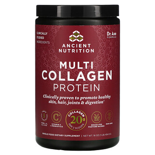 Dr. Axe / Ancient Nutrition, Multi Collagen Protein, 1 lb (454.5 g)