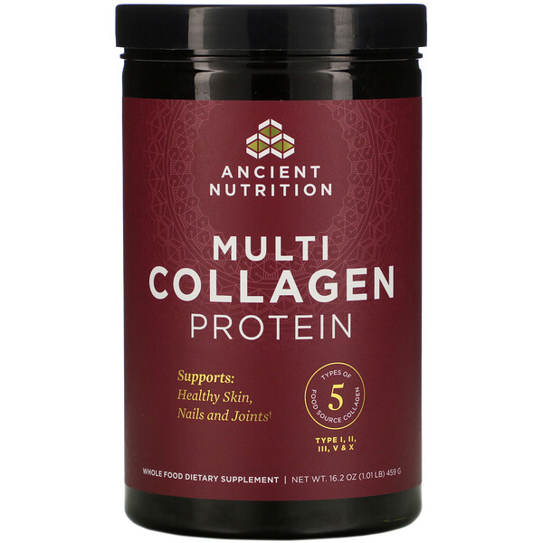 Dr. Axe / Ancient Nutrition, Multi Collagen Protein, 1.01 lb (459 g)