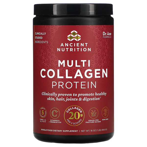 Multi Collagen Protein, 1 Lb (454.5 g)