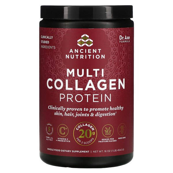 Multi Collagen Protein, 1 lb (454.5 g)
