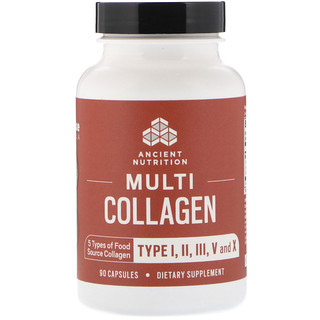 Dr. Axe / Ancient Nutrition, Multi Collagen, 90 Capsules