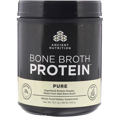 Bone Broth Protein, Pure, .98 lb (445 g)