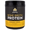 Dr. Axe / Ancient Nutrition, Bone Broth Protein, Banana Creme, 17.3 oz (490 g)