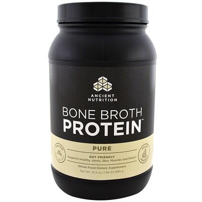 Купить Bone Broth Protein, чистый белок, 890 г (1, 96 фунта)