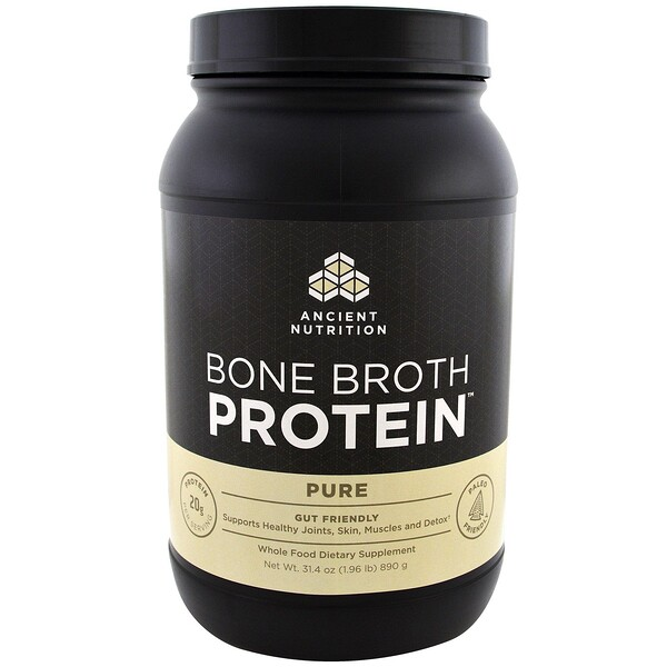 Bone Broth Protein, Pure, 1.96 lbs (890 g)