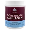 Dr. Axe / Ancient Nutrition, Bone Broth Collagen, коллаген со вкусом ванили, 517 г (1,13 фунта)