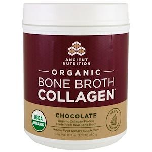 Dr. Axe / Ancient Nutrition, Organic Bone Broth Collagen, Chocolate, 16.2 oz (460 g) отзывы