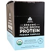 Dr. Axe / Ancient Nutrition, Organic Bone Broth Protein, French Vanilla, 12 Single Serve Packets, 1.02 oz (29 g) Each