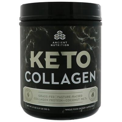 Keto Collagen, Collagen Protein + Coconut MCTs, 1.19 lb (540 g)
