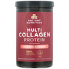 Dr. Axe / Ancient Nutrition, Multi Collagen Protein, Strawberry Lemonade, 1.18 lbs (535.5  g)