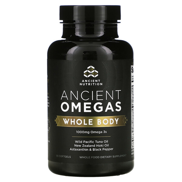 Ancient Omegas, Whole Body, 90 Softgels
