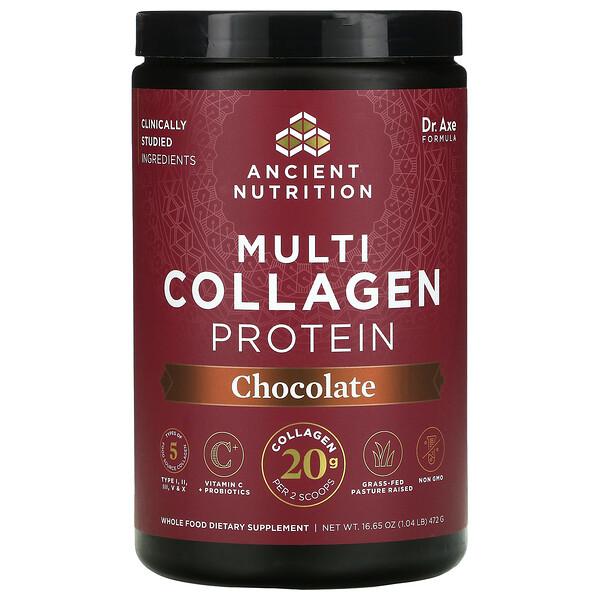 複合膠原蛋白,巧克力,1.16 磅(524 克)
