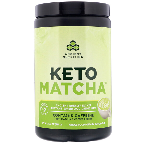 Keto Matcha, Ancient Energy Elixir, 8.5 oz (214 g)