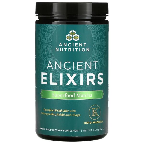 Ancient Energy Elixirs, Superfood Matcha, 7.5 oz (214 g)