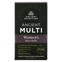 Dr. Axe / Ancient Nutrition, Ancient Multi, Women's Once Daily, 30 Capsules