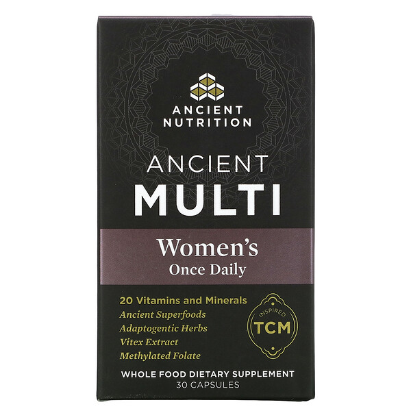 Ancient Multi, Women's Once Daily, 30 Capsules