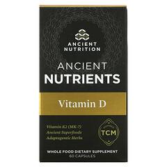 Dr. Axe / Ancient Nutrition, 古代營養素,維生素 D,5,000 國際單位,60 粒膠囊