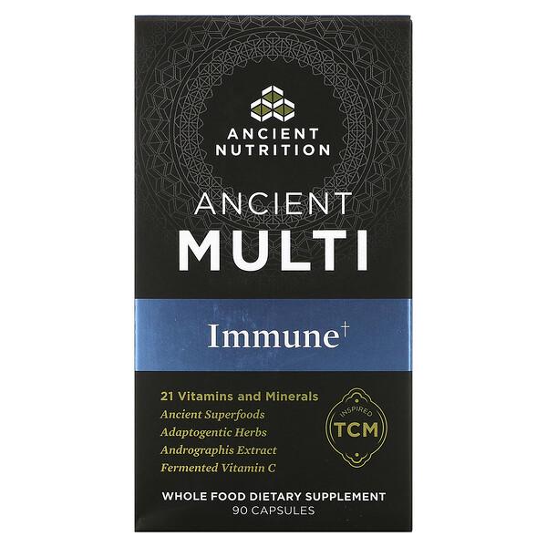 Ancient Multi, Immune, 90 Capsules