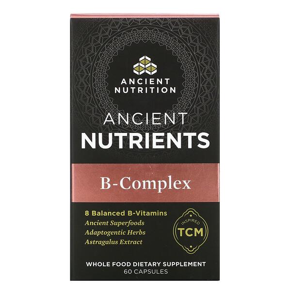 Ancient Nutrients, B-Complex, 60 Capsules