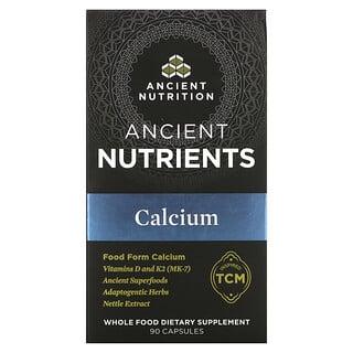 Dr. Axe / Ancient Nutrition, Calcium, 90 Capsules