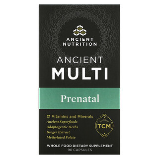 Dr. Axe / Ancient Nutrition, Ancient Multi Prenatal, 90 Capsules