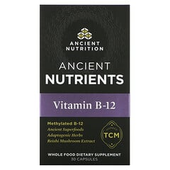 Dr. Axe / Ancient Nutrition, Vitamin B-12, 30 Capsules