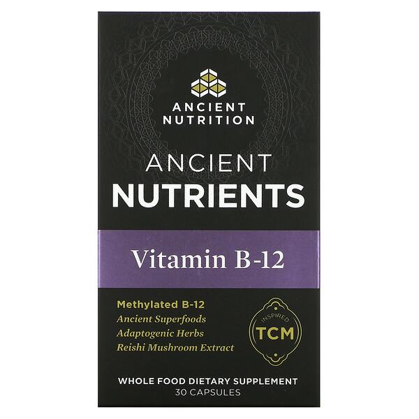 Vitamin B-12, 30 Capsules