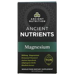 Dr. Axe / Ancient Nutrition, 古代營養素,鎂,300 毫克,90 粒膠囊