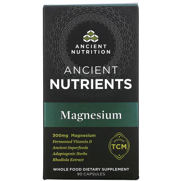 古代营养素,镁,300 毫克,90 粒胶囊