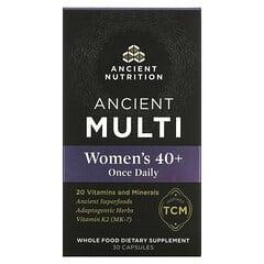 Dr. Axe / Ancient Nutrition, 古代多營養素,40 歲以上女性每日一粒,30 粒膠囊