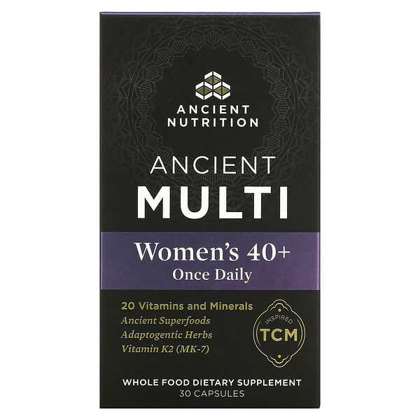 Ancient Multi, Women's 40+ Once Daily, 30 Capsules