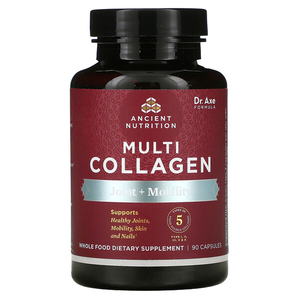 Multi Collagen, Joint + Mobility, 90 Capsules