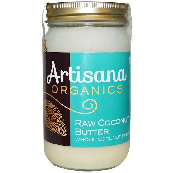 Artisana, Organics, Raw Coconut Butter, 16 oz (454 g) (Discontinued Item)