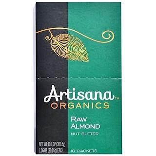 Artisana, Manteiga Pura de Amêndoa, 10 Sachês, 1.06 oz (30,05 g) Cada