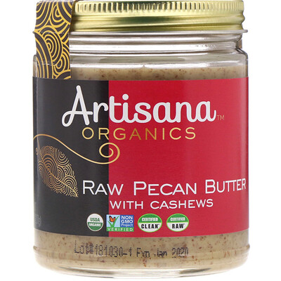 Купить Органическое масло из сырых орехов пекан, 8 унций (227 г)