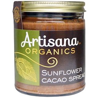 Artisana, Organics, Sunflower Cacao Spread, 8 oz (227 g)
