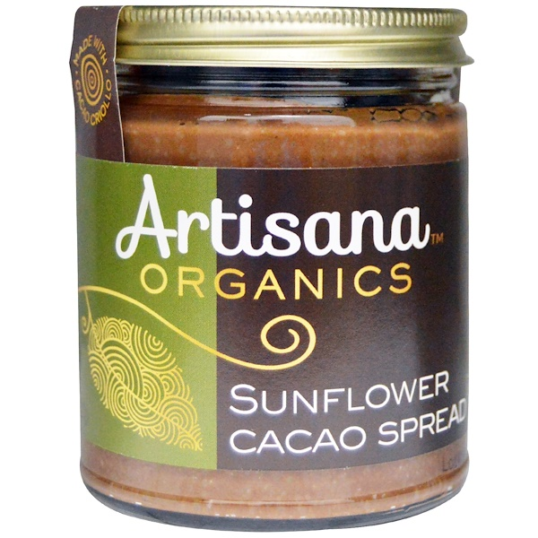 Artisana, Organics, Sunflower Cacao Spread, 8 oz (227 g) (Discontinued Item)