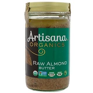 Artisana, オーガニック、未加工アーモンドバター、14 oz (397 g)