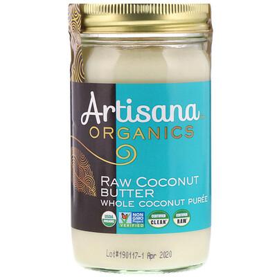 Купить Органическое, сырое кокосовое масло, 14 унций (397 г)