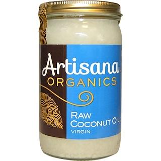 Artisana, 오가닉스, 생 코코넛 오일, 버진, 14 oz (414 g)